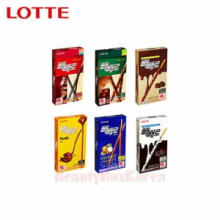 LOTTE Pepero (choco stick biscuit) 32g~46g*40ea [WS],Beauty Box Korea